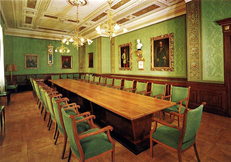 Главный зал заседаний в городе Грац